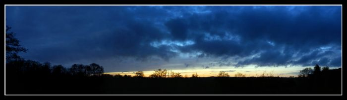 Kenilworth sunset panorama by bright-shadow