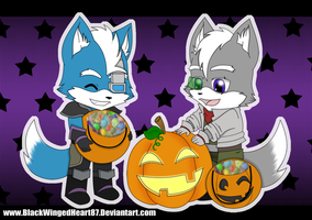 trick or treaters by BlackWingedHeart87