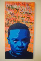 Dre on Graf / Spraypaint and Paint Pens by Joshfryguy