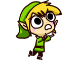 Link Worried Running by 15cocopuffs