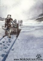 Nordguard Card Game: Snow Squall by screwbald