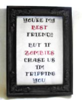 More Zombie Themed Cross Stitch by agorby00