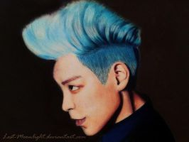 T.O.P (BigBang) Color Pencil Drawing by Lost-Moonlight