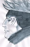 Kisame watercolour by IreIreIre