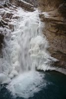 Johnston Canyon Lower Falls by dseomn