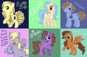 Ponies by Pimmy