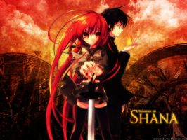 shana and yuji by grafas7