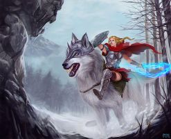 The Red Riding Hood by bonify
