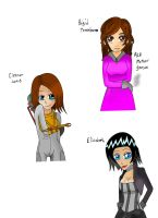 Women of Bioshock by ALostSoul13
