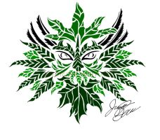 Greenman by IkaikaDesign