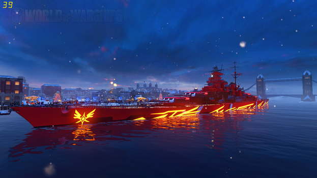 WoWS Fleet of Fog KMS G. Kurfurst by Scattergunsniper