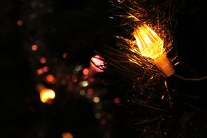 Christmass lights by HradelaPhoto
