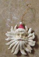 Santa Ornament by sophia-T