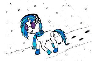 Wubbing Through The Snow by DoctorSpectrum