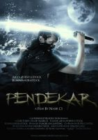Pendekar Movie Poster by caffeinesoup