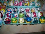 Easter Eggs Halo DC Marvel by Rene-L