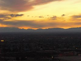 City Sunset by Mora0711