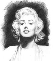 Marilyn Monroe by petervale