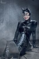 Catwoman- Salon del Comic 2012 by Hidrico