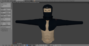 Blender Character Competition WIP 2 by alewism