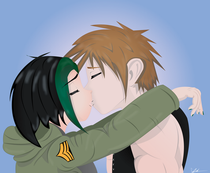 A Kiss From Jade by cillmevin