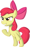 Evilish AppleBloom by Yetioner