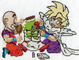 Dende's Makeover X-Stitch by SamalaKatal