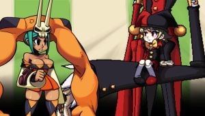 SkullGirls Cerebella and Jill's Confrontation by NIGHTMAREZENUKI
