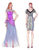05.10.13 Fashion sketches by Lucis7
