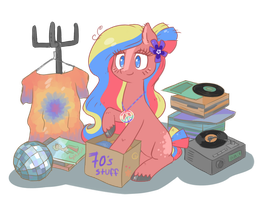 Flower Child - back in the 70s by Reporter-Derpy