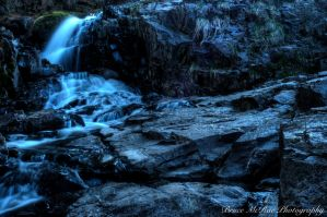 Chester Bowl Waterfall by maDUECEgunner