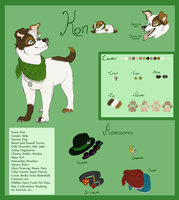 Kon Ref - Dogsona by The-Chibster
