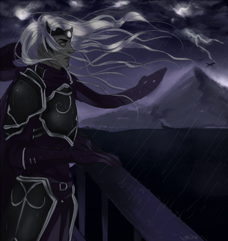 Storm is Rising by Lamaohi