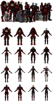 Blood Pack Mercenary Troops for XPS by Just-Jasper