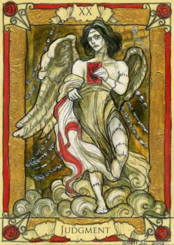 Penny Dreadful Tarot - Judgement by BohemianWeasel