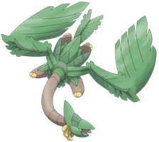 Mega Tropius by Smiley-Fakemon