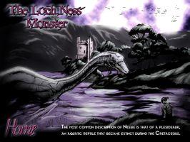 The Loch Ness Monster by dcbats2000