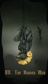 XII - THE HANGED MAN by ph33rtehcute0n3s