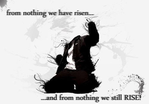 from nothing we have risen by Horusiath