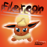 Flareon- Request by pokebulba