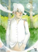 Mushishi fan art by Yorous