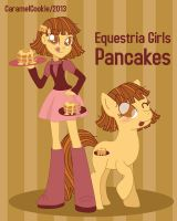 Equestria Girls Pancakes by CaramelCookie