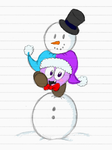 Snowman by MarxtheJester