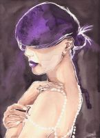 Dark Purple by AnoukvanderMeer