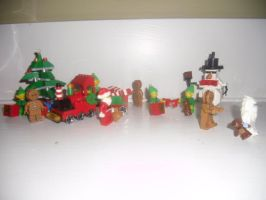 2015 LEGO Christmas Display Picture 1 by Eli-J-Brony
