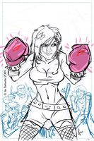 Boxing Cassie Hack Rough by 2Ajoe