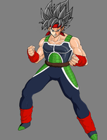 Bebi Bardock first form by JensTheSaiyan