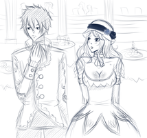 Gruvia WIP by CandyPiie