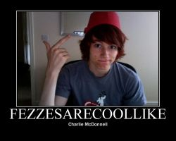 Fezzes Are Cool Like by hayface