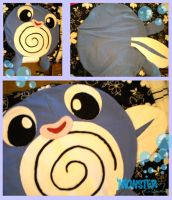 Pokemon Poliwag Beanbag by MONSTERCreations